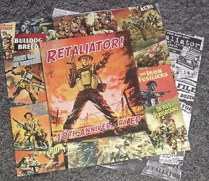 RETALIATOR 10th ANNIVERSARY EP 4Skins The Head rockorama ISD Condemned84 Oi RARE
