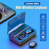 Bluetooth 5.0 Headset Earbuds TWS Wireless Headphone For Earphones IPX7 Ste R4B7