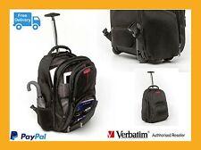 "Verbatim Quality Corporate Bag Paris Backpack Roller for 17"" Notebook 49852"