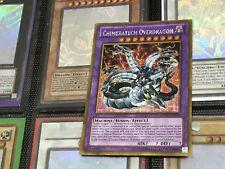 YUGIOH CARD: PGLD-EN056 Chimeratech Overdragon GOLDEN RARE CHEAPEST FREE POST!!!