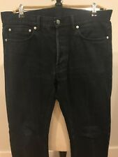 Our Legacy Mens Selvedge Denim Jeans Blue Indigo Size 35x35