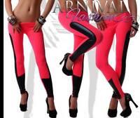 NEW WOMENS DESIGNER PANTS LEGGINGS 6 8 10 12 14 16 LADIES CASUAL WEAR XS S M L