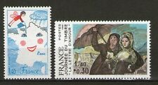 SERIE TIMBRES 2124-2125 NEUF XX LUXE -