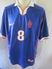 Holland Bergkamp 1998 WC Away Football Shirt Size XL /34443