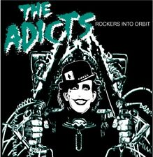 ADICTS 'Rockers Into Orbit' - 29 live in Germany punk rock tracks sealed CD