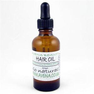 Avena Hair Oil Stimulating Hair Loss Treatment. Paraben & SLS Free