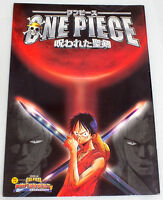 One Piece The Cursed Holy Sword Movie Program Art Book JAPAN ANIME MANGA
