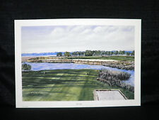 Gordon Wheeler Water Hazard Golf Limited Edition Lithograph