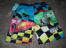 "Disney Pixar ""Cars"" Boys Swim Trunks / Shorts~Sz 4 ~Retail $20 ~ NWT"