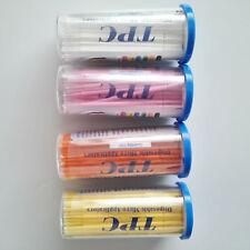 New 4 bottles Micro Applicator Brush Dental Bendable 100pcs/bottle Disposable
