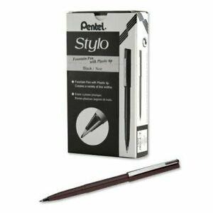 Pentel Arts Stylo Sketch Pen, Black (JM20-AE)