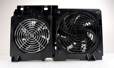 Dell KC257 YC653 Dual Front CPU Cooling Fan Assembly For PWS 690 & T7400 Systems