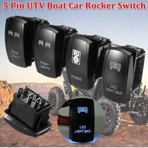 4x LED Light Bar Rocker Switch For UTV POLARIS RZR 4 XP 900 1000 Arctic Cat 12V