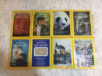 National Geographic Magazine 1975, 1981, 1982, 1984 Hologram Vintage Assorted