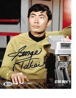 Sulu Star Trek Autograph Promo Print Desktop Frame Landscap George Takei