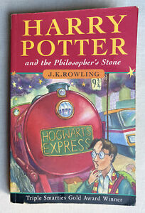 Harry Potter and the Philosopher's Stone 1st edition 60th print PB With Errors