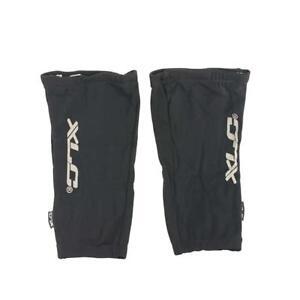 XLC Mirco-Fleece Knee Warmers LG Black Warm LegGrip Cold Weather Gear New w/Tags