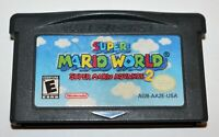 SUPER MARIO WORLD: SUPER MARIO ADVANCE 2 NINTENDO GAMEBOY ADVANCE SP GBA