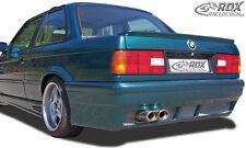 """RDX Stoßstange BMW E30 """"GT4"""" Heck Schürze Hinten Spoiler"""