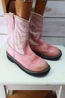 Old West 4 Pink Girl's Western Boots