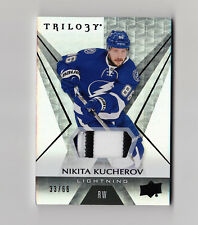 2016-17 Trilogy Black Foil Patch #29 Nikita Kucherov 33/66 Tampa Bay Lightning