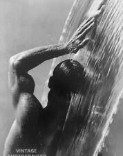 """1988 MATTED 16""""X12"""" Vintage HERB RITTS Male Nude in Waterfall PHOTO ART"""