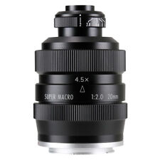 Zhongyi Mitakon 20mm f/2 4.5X Super Macro Lens for Micro 4/3 M43 mount MFT OM-D