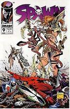 SPAWN #9 Comic nm+ Image McFarlanes Gaiman 1992 1st  Angela Thor H7-1 Amricons