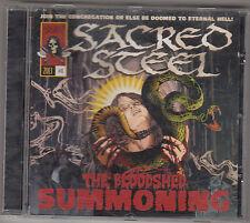 SACRED STEEL - the bloodshed summoning CD