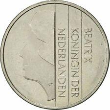 [#420960] Munten, Nederland, Beatrix, Gulden, 1994, ZF+, Nickel, KM:205