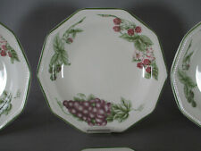 6 assiettes plates Churchill Chartwell collection Victorian Orchard