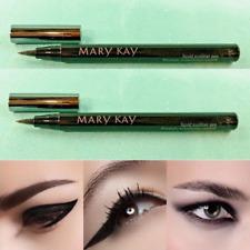 Set/2 Mary Kay LIQUID EYELINER PEN Precision Tip Fine Line or Cat Eye BLACK Full