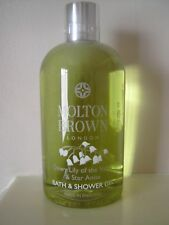 Molton Brown Bath & Shower GEL 300ml Dewy Lily of The Valley&star Anise