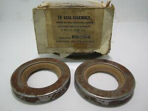57-77 Edsel Ford Mercury Rear Wheel Oil Seal Leather BOWMAN Pair B7A-1177-B