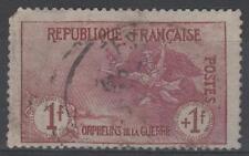 """FRANCE STAMP TIMBRE 154 """" ORPHELINS 1F+1F LA MARSEILLAISE """" OBLITERE A VOIR P526"""