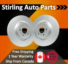 2010 2011 2012 For Chevrolet Equinox Coated Front Brake Rotors 321mm Rotor Pair