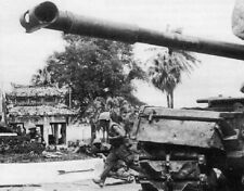 "US Marines M48 Patton Tank Battle for Hue City 8""x 10"" Vietnam War Photo 233"