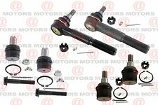 Front Outer Tie Rods Upper Lower Ball Joints For F-250 Super Duty RWD 99 To 07