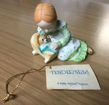 "1980 Holly Hobbie ""Tenderness"" Figurine~Miniatures Collection Series V"