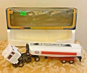 Corgi Toys No. 1157 Ford COE Esso Tanker Unsold Shop Stock-in-Original Box!