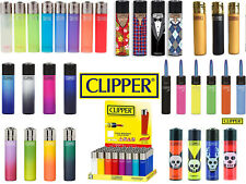 4 x Clipper Lighters RARE Gas Refillable Set  | 100% Genuine | Wide Variety New