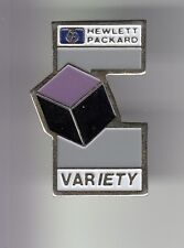 RARE PINS PIN'S .. INFORMATIQUE PC ORDINATEUR COMPUTER HP HEWLETT PACKARD V. ~DD