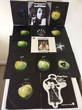 14 BEATLES APPLE SINGLES Billy Preston, Badfinger, John, Paul, George and Ringo