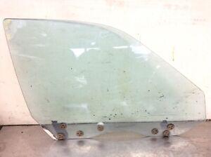 90-93 Integra 4Dr Right Passenger Front Door Glass Window Blue Used OEM