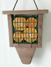 Wood Suet Bird Feeder ~ Hanging Suet feeder ~ Oriole Bird Feeders
