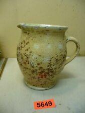 5649. Alter Tonkrug Fayence Ton Krug Old Clay Pot