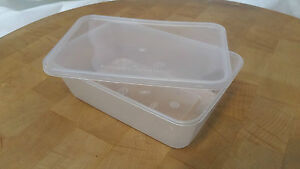 Clear Plastic Microwave Food Containers With Lid Takeaway Meal Food Prep 500cc