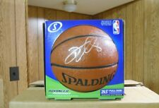 AUTOGRAPH Deron Williams SIGNED Official SPALDING BASKETBALL Nba Auto NEW IN BOX