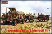 Roden Models 1/72 FWD MODEL B 3-LORRY with BL 8-INCH HOWITZER Mk.VI
