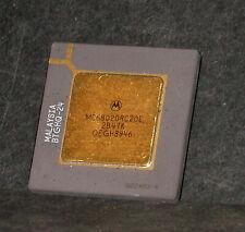 New listing Motorola 68020 Mc68020Rc20E 20 Mhz Cpu Processor Gold Lids and Pins
